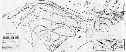 Olmsted's Plan for Fisher Hill