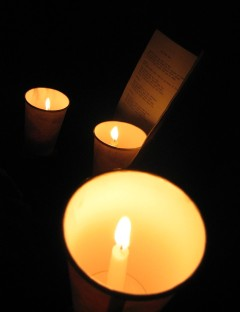 Candles and Songbook
